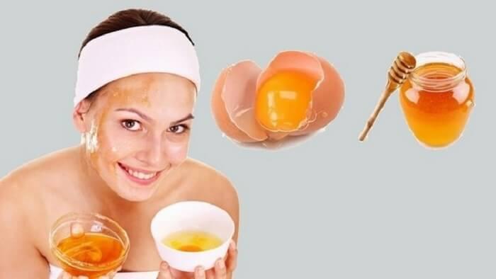 Công dụng của mặt nạ trứng gà mật ong