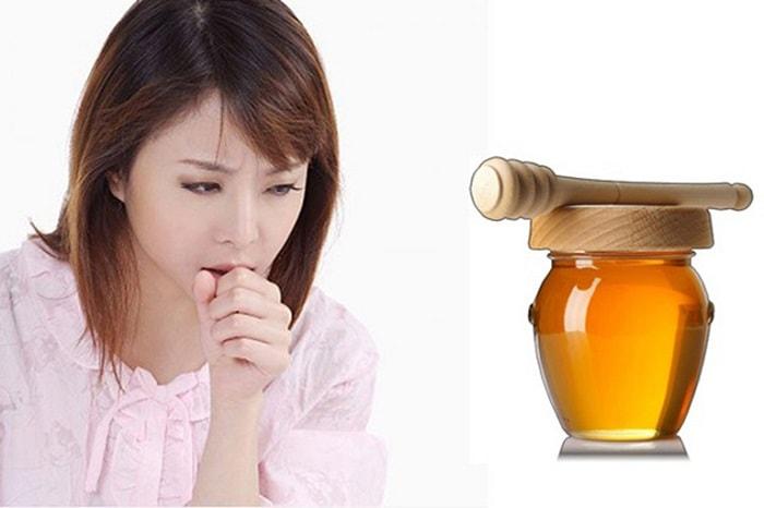 Mật ong trị đau họng, trị ho hiệu quả