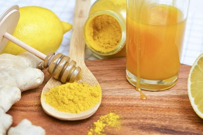 Tác dụng của tinh bột nghệ và mật ong