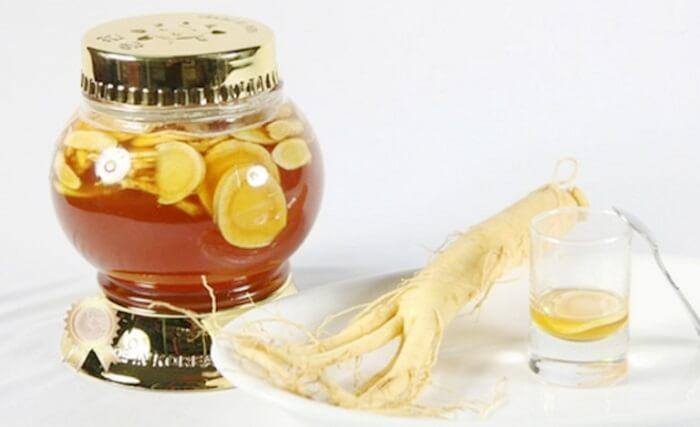 Sâm ngâm mật ong có tác dụng gì